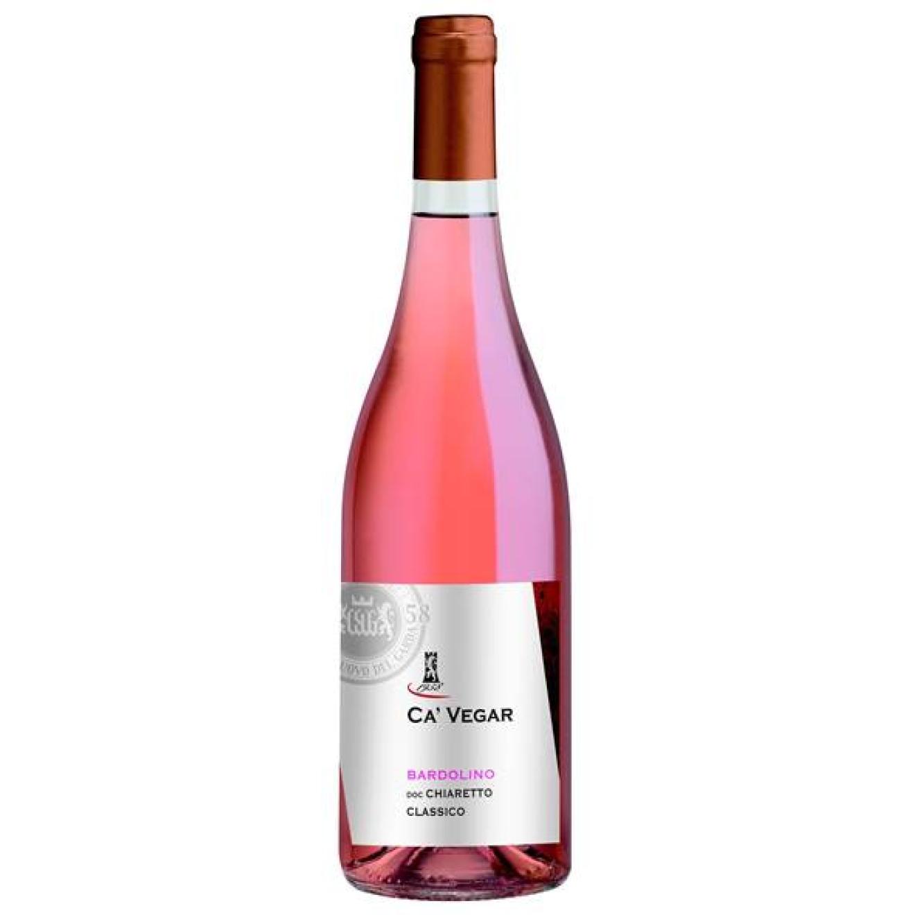 Bardolino classico Chiaretto rosé